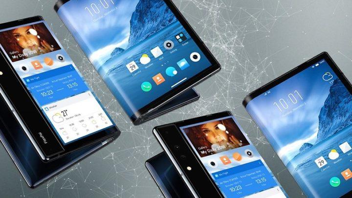 smartphones pliants